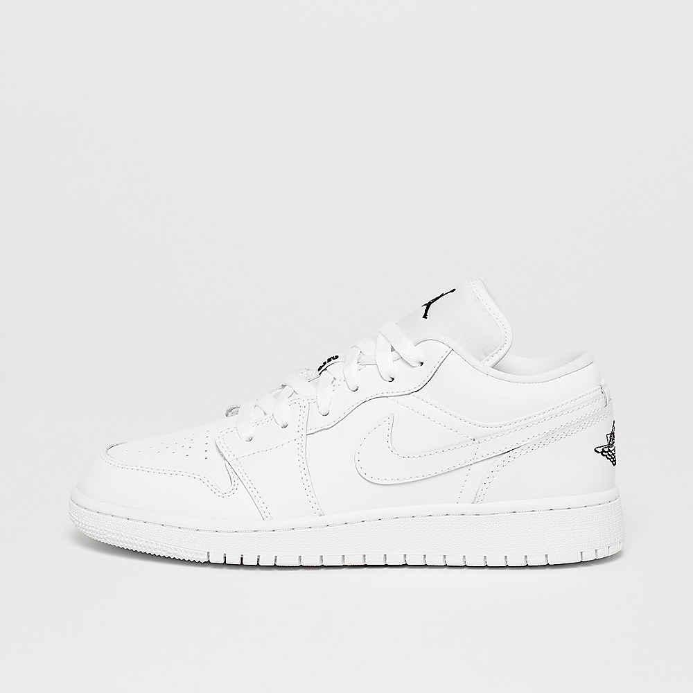 size 40 4b4e0 017c6 Air Jordan 1 Low (BG) white black online bei SNIPES