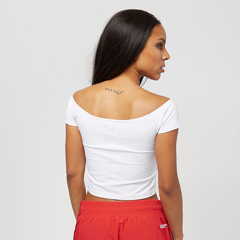 9516a14f13373a Fila x SNIPES white Off-Shoulder Top jetzt bestellen