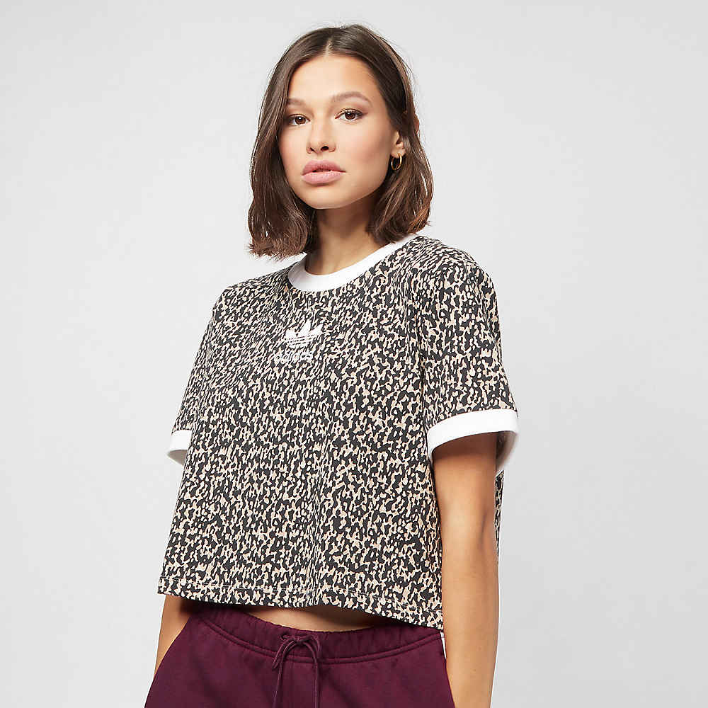 16804b59733 adidas Leoflage aop clear brown/trace khaki T-shirts bij SNIPES bestellen