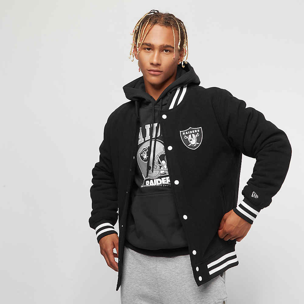 Compra New Era Varsity Jacket Team APP NFL Oakland Raiders black Chaquetas  en SNIPES 6d0ff6fafd1