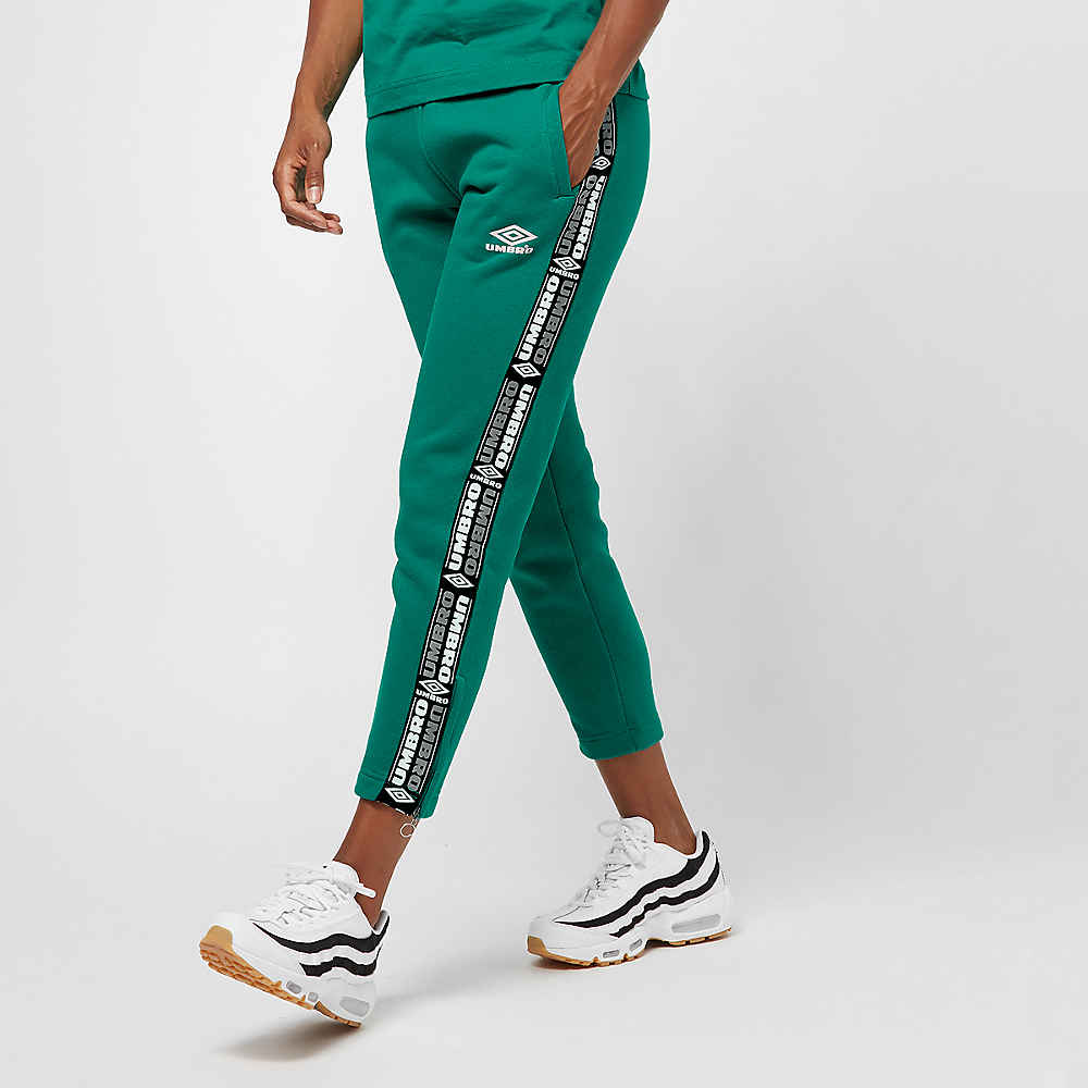 Umbro wmn Tape Side Crop Sweat Pant parasail