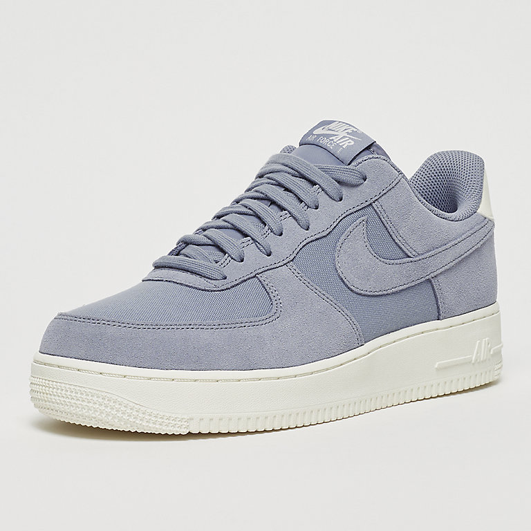 timeless design bbf80 224d1 Commander Air Force 1  07 Suede ashen slate sneakers chez SNIPES !