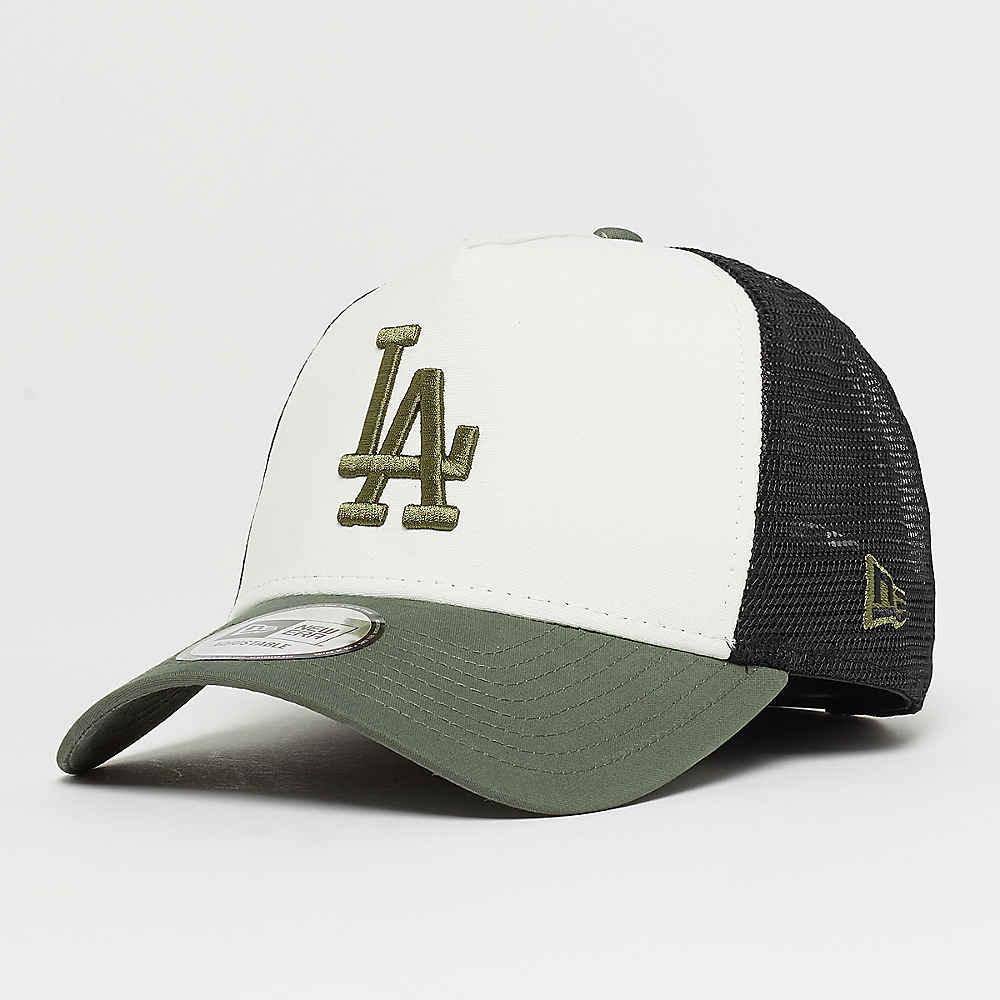 Compra New Era 9Forty MLB Los Angeles Dodgers Nylon Trucker o wht olv blk  Gorras Trucker en SNIPES 4548a017d31