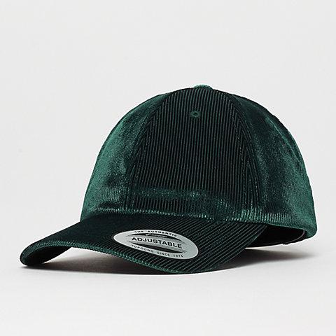 timeless design d7b08 81ec8 Flexfit Corduroy Satin Dad Cap green