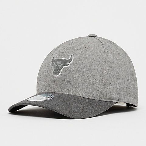 newest collection 05094 a837f Mitchell   Ness NBA Chicago Bulls HWC Beam 110 Curved Snap grey