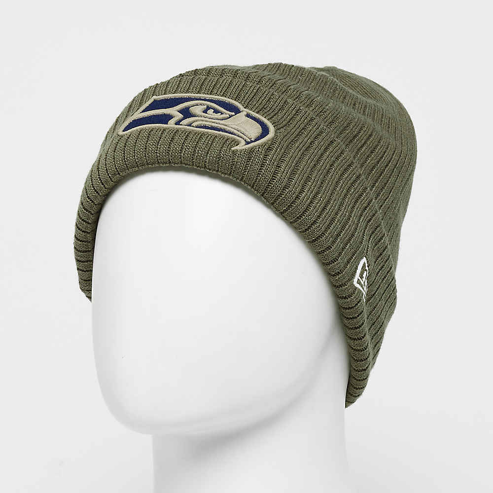 reputable site 3e4b0 be3f5 New Era NFL Seattle Seahawks Cuff Knit ONF18 sts5 Beanies bei SNIPES  bestellen
