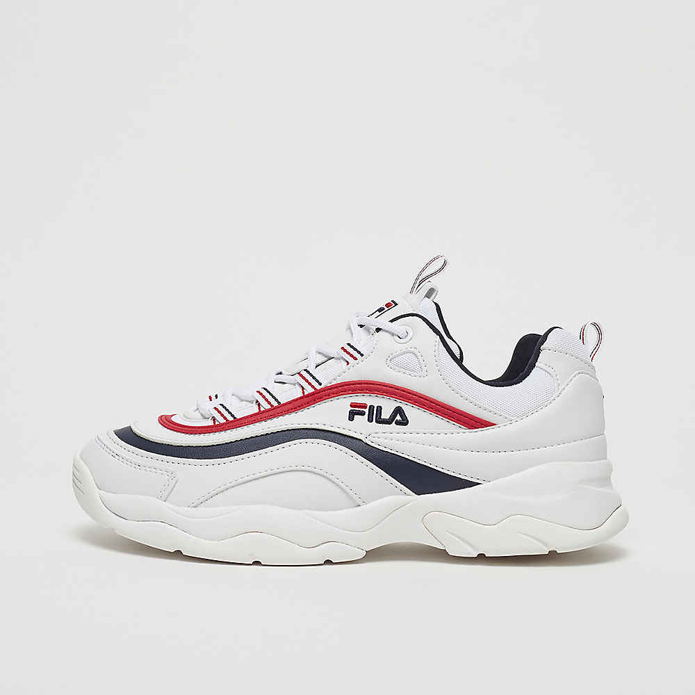 WMN Heritage Ray Low white/fila navy/fila red