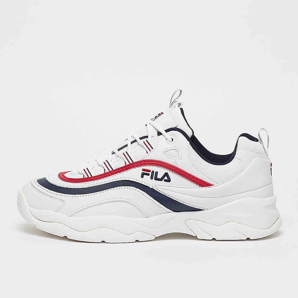FILA Heritage Men Ray Low White/FILA Navy/FILA Red