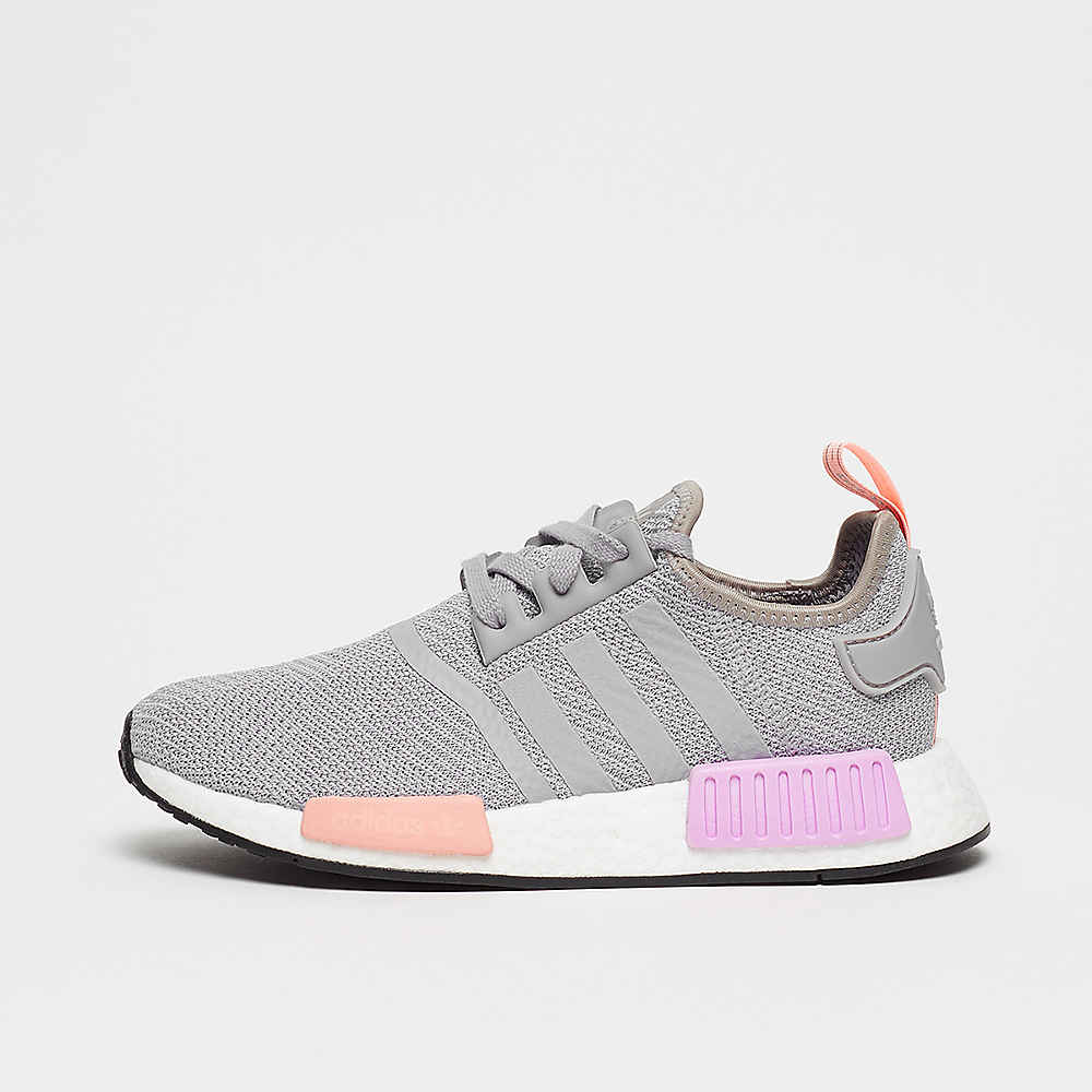 NMD R1 ltgranite/ltgranite/clearoran