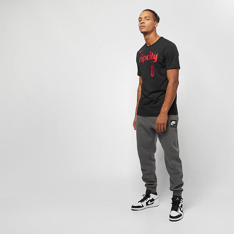 f76df1823 NIKE Basketball NBA Portland Trail Blazers Dry ES Damian Lillard black