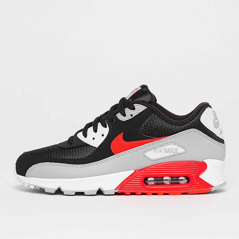 388ed22a57f8 Commander NIKE Air Max 90 Essential wolf grey bright crimson black white  chez SNIPES
