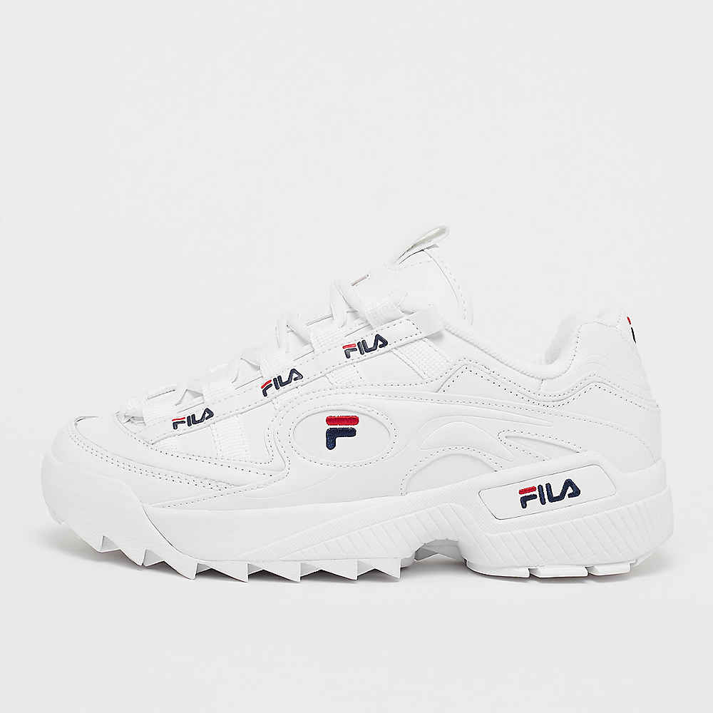 FILA Men D Formation White/Fila Navy/Fila Red