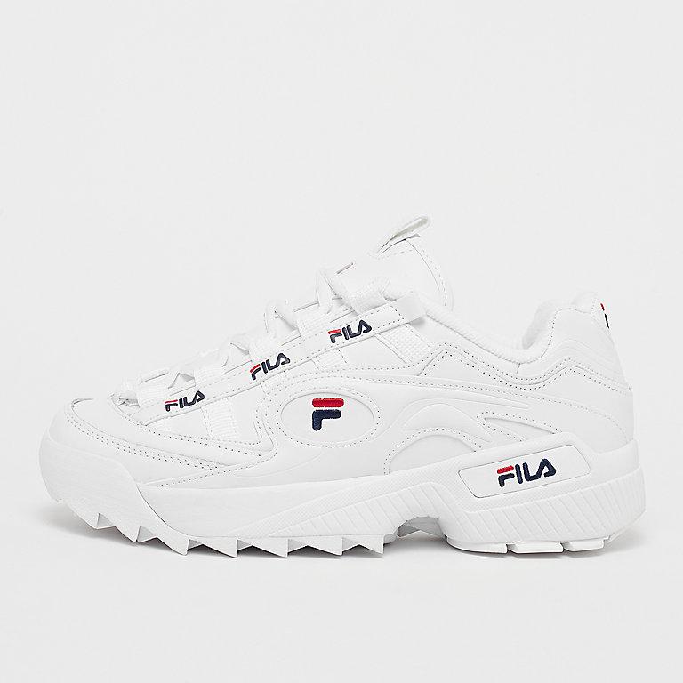 0a6234646d3c Commander Fila FILA Men D Formation White Fila Navy Fila Red Fashion chez  SNIPES