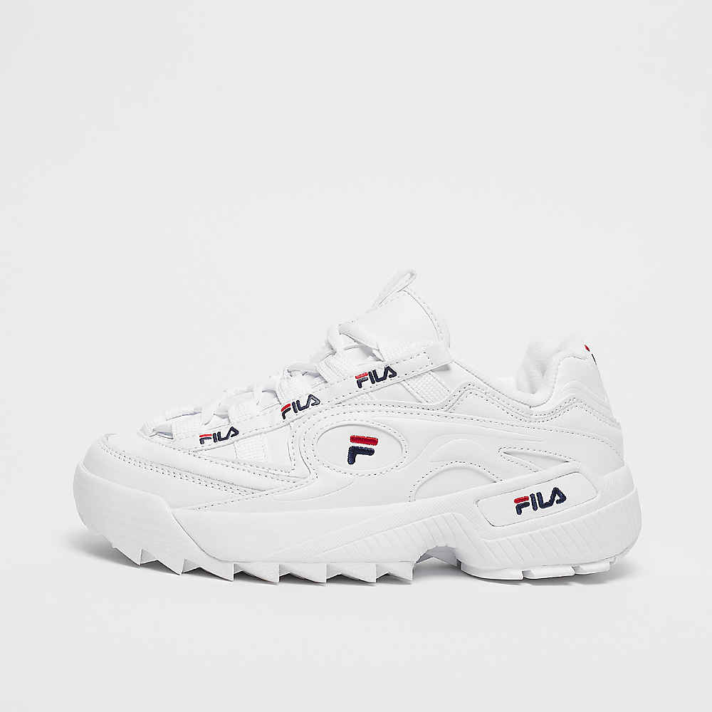 FILA Wmn D Formation white/navy/red