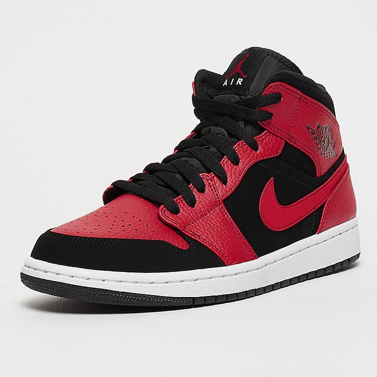 1db8f95d018 Jordan Air Jordan 1 Mid black gym red white bei SNIPES bestellen