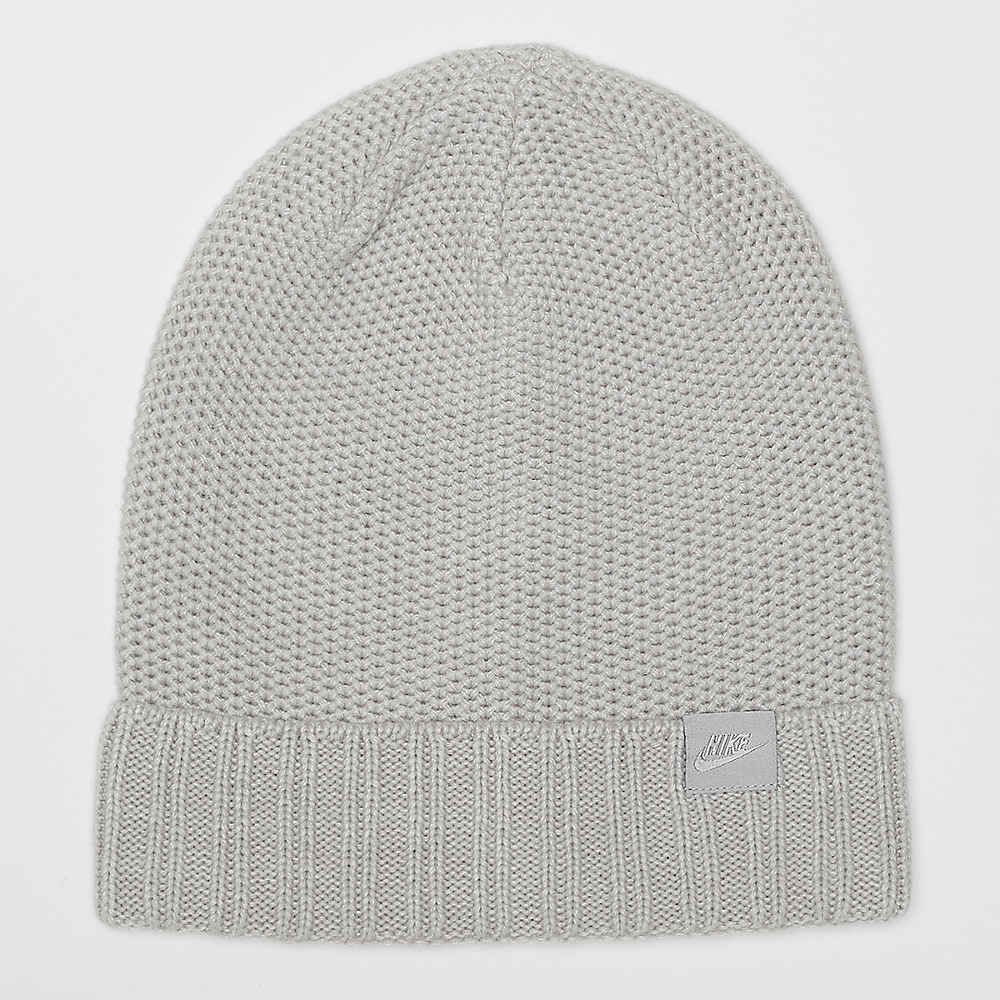 c98a34b585d6a Compra NIKE NSW Beanie Honeycomb grey heather wolf grey Gorros en SNIPES