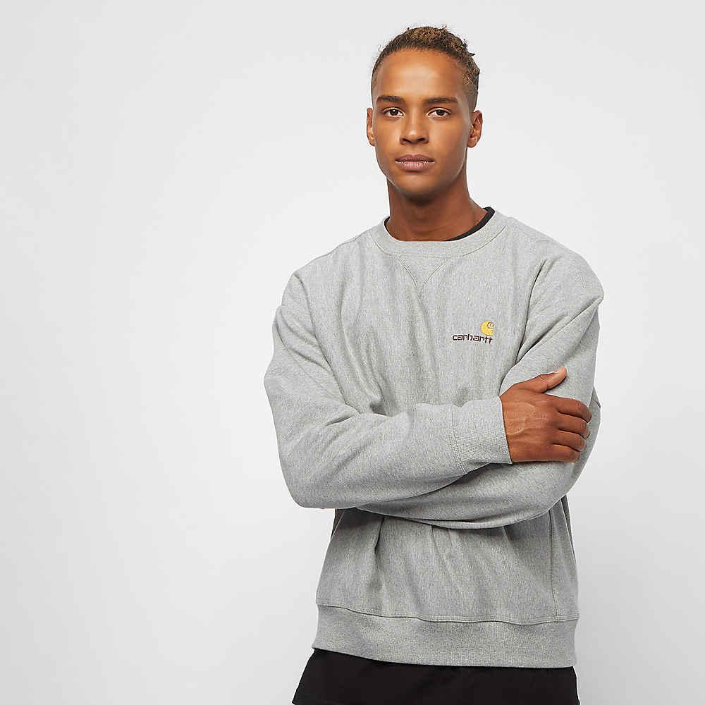 Compra Carhartt WIP American Script Sweatshirt grey heather Sweatshirts en  SNIPES 71e6cbfb50a