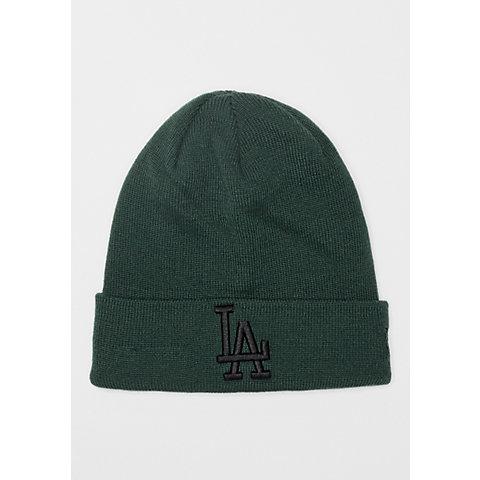 38d04008b8962b New Era Cuff Knit MLB Los Angeles Dodgers Essential dark green/black