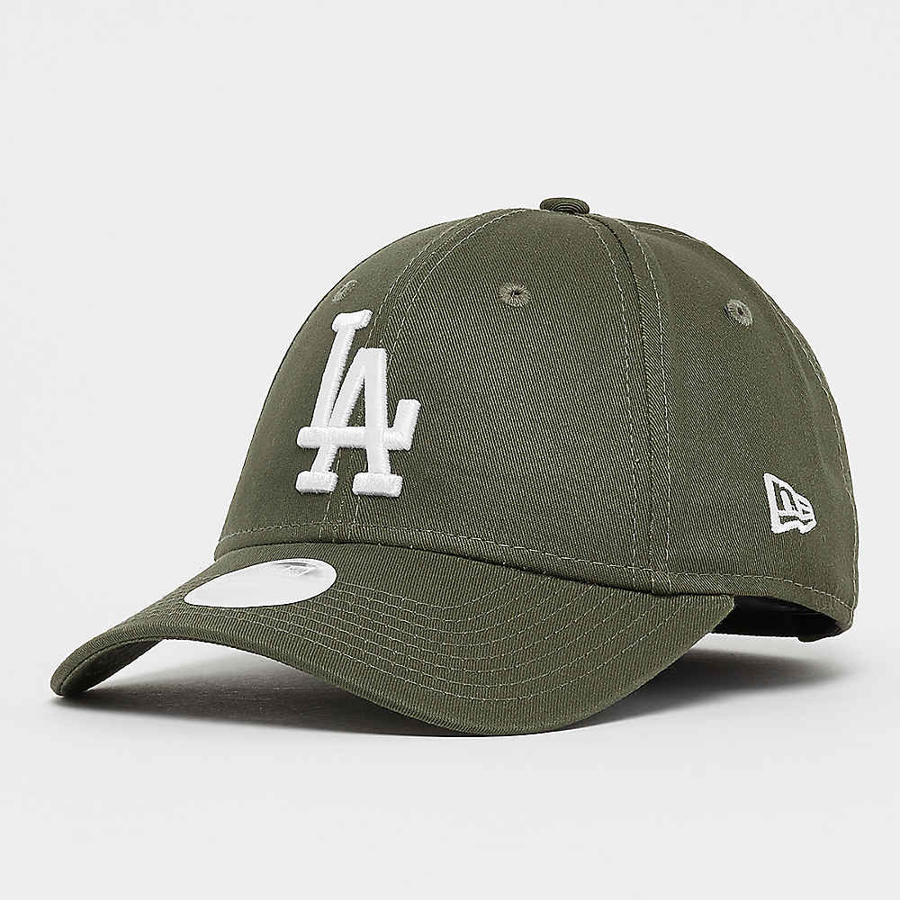 Compra New Era 9Forty Wmns MLB Los Angeles Dodgers Essential olv otc wht  Gorras de Baseball en SNIPES b2f53c759b1