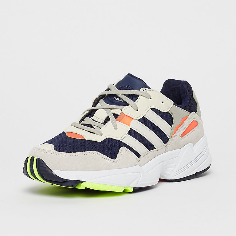 reputable site ee3ac 5f78a adidas YUNG 96 J collegiate navyraw whitesolar orange bij SNIPES bestellen