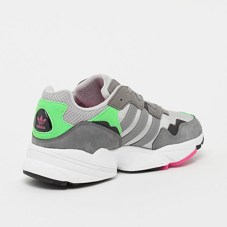 c6c8447cb5 adidas Yung-96 grey two F17 grey three F17 shock pink