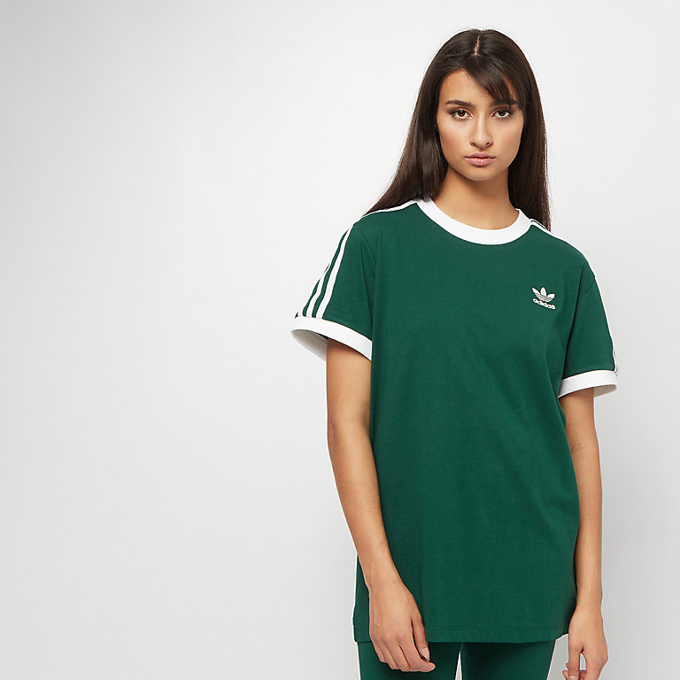 adidas 3 Stripes T-shirt collegiate green bij SNIPES bestellen