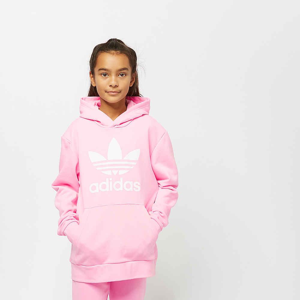 da4e5bdb0a67 adidas Trefoil Hoodie light pink white Hoodies bij SNIPES bestellen