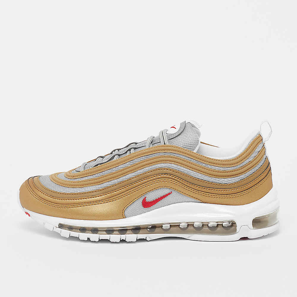edb55a885ad Zapatillas NIKE Air Max 97 SSL metallic gold en SNIPES