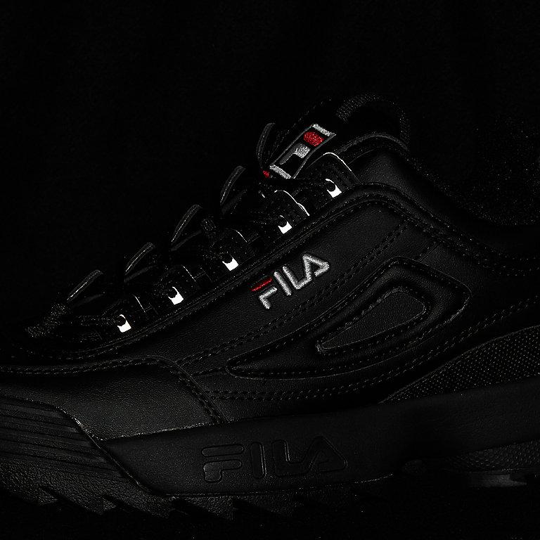 FILA Heritage Disruptor M Wmn black black