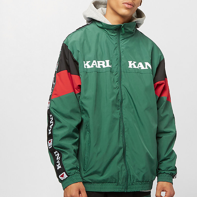 7c139fa8a821a Compra Karl Kani KK Retro Trackjacket green red black Chaquetas de ...