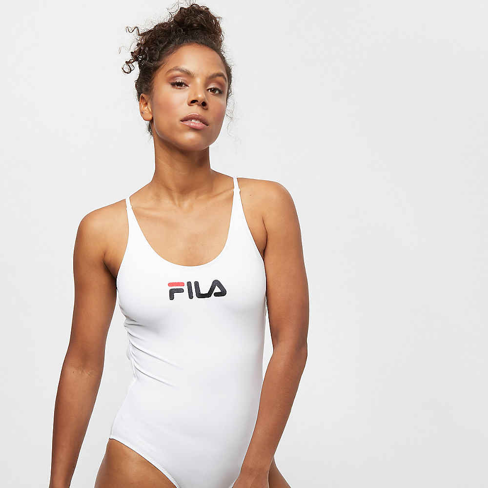 76fb406d03 Commander Fila FILA WMN UL bathing suit Saidi bright white chez SNIPES