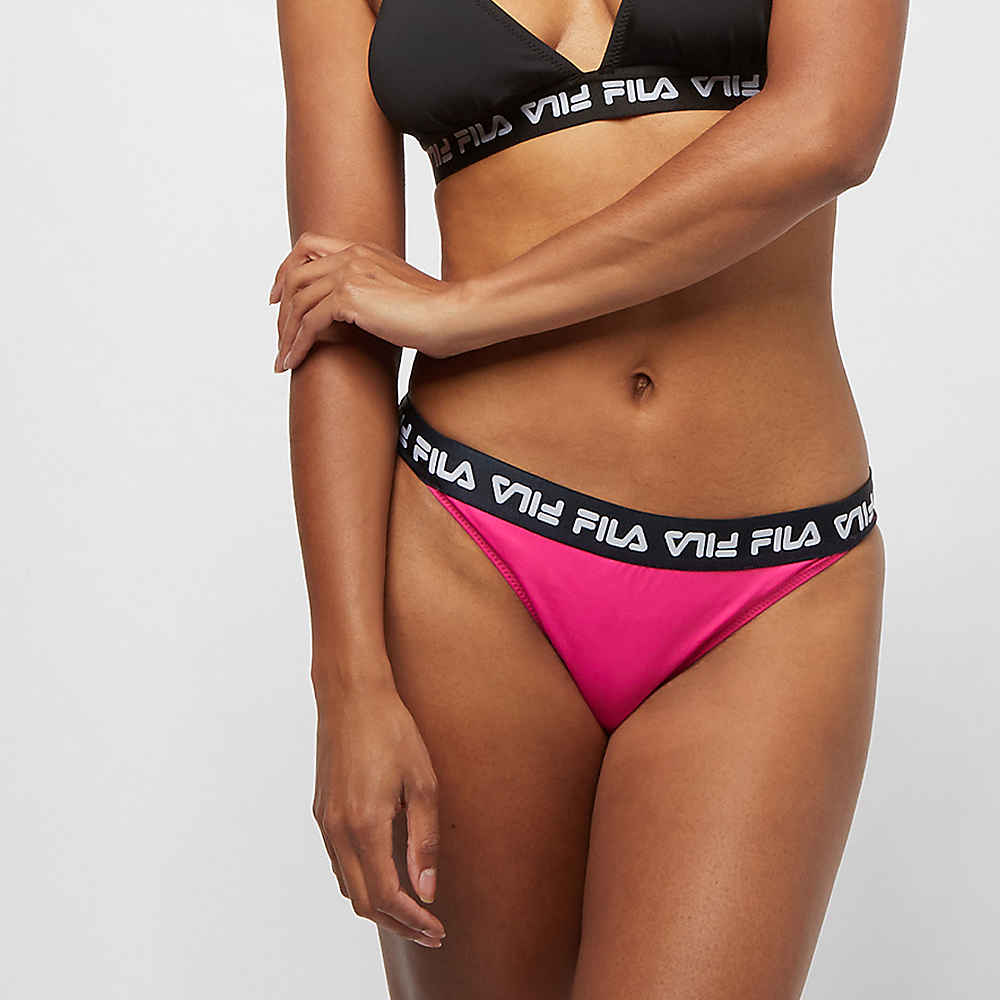 385c54b145 Commander Fila FILA WMN UL bikini panty Sally pink yarrow chez SNIPES