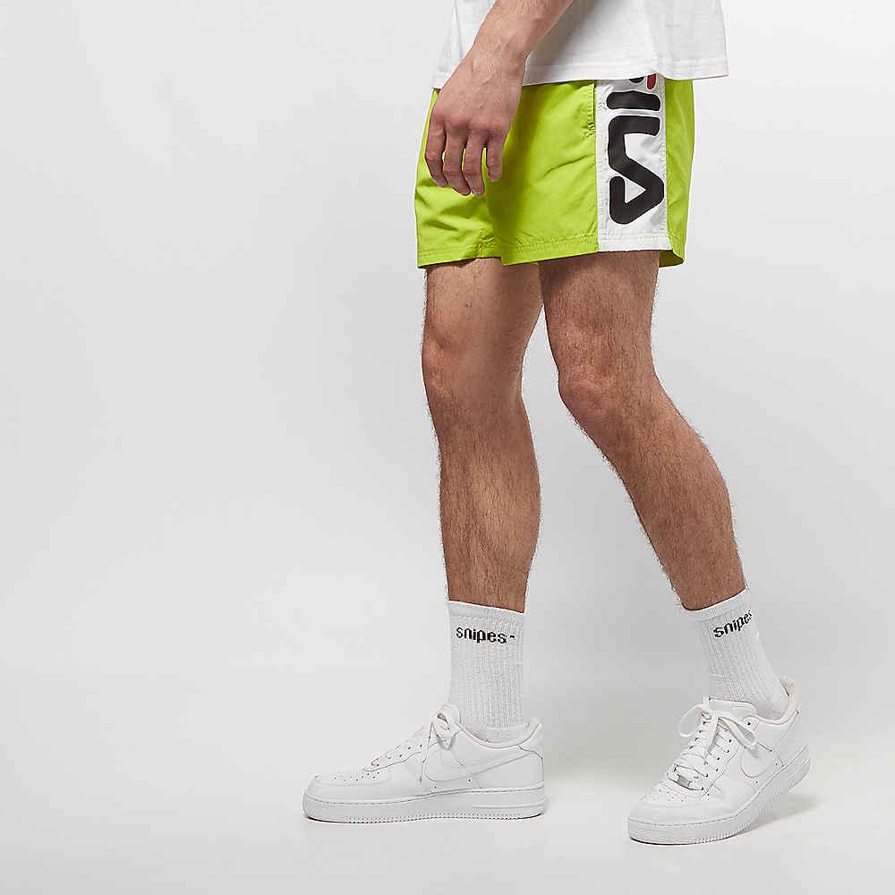 FILA Men UL swim shorts Safi acid limebright white