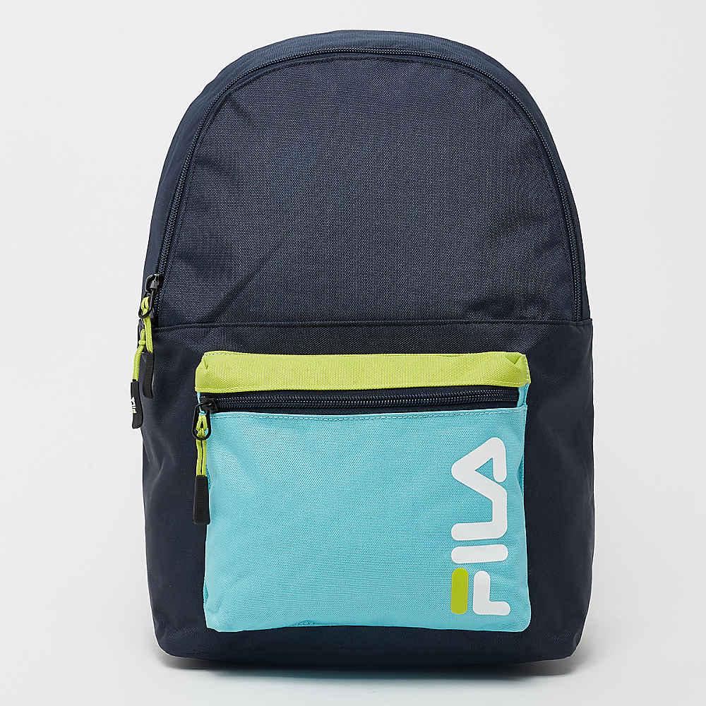 9360b67aab0ba Fila Urban Line Backpack S cool color blocking black iris bl Rucksäcke bei  SNIPES bestellen
