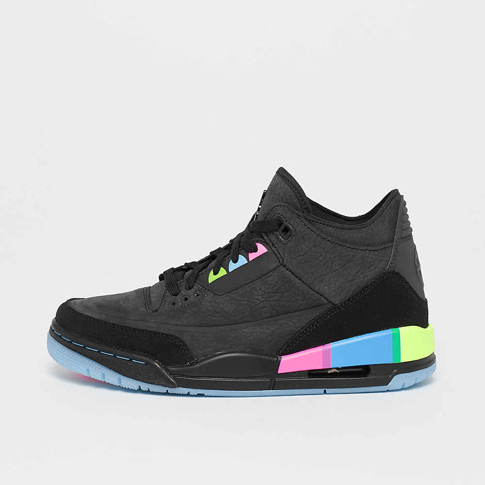 cheap for discount ba741 947a9 JORDAN Air Jordan 3 Retro (GS) black black-electric green-infrared  Basketball bij SNIPES bestellen