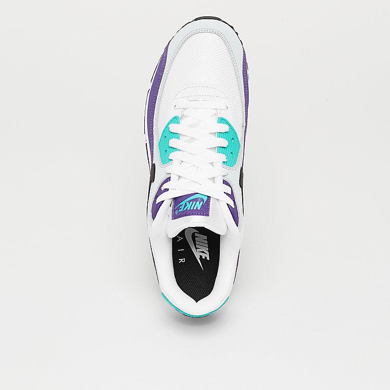 size 40 5f404 19a94 NIKE Air Max  90 Essential white black hyper jade court purple