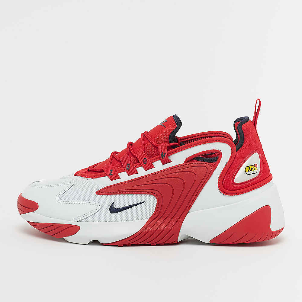 Zoom 2K off white/obsidian/university red