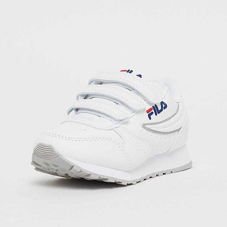 FILA Heritage Orbit Velcro Low Jr White