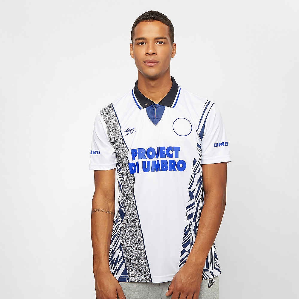 b86c546f35848 Compra Umbro Umbro Azteca Football Jersey white medieval blue deep surf Camisetas  deportivas en SNIPES