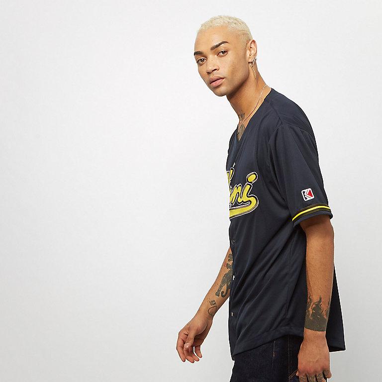 796fe8fffca6d Compra Karl Kani KK College Baseball Shirt navy yellow Camisetas deportivas  en SNIPES