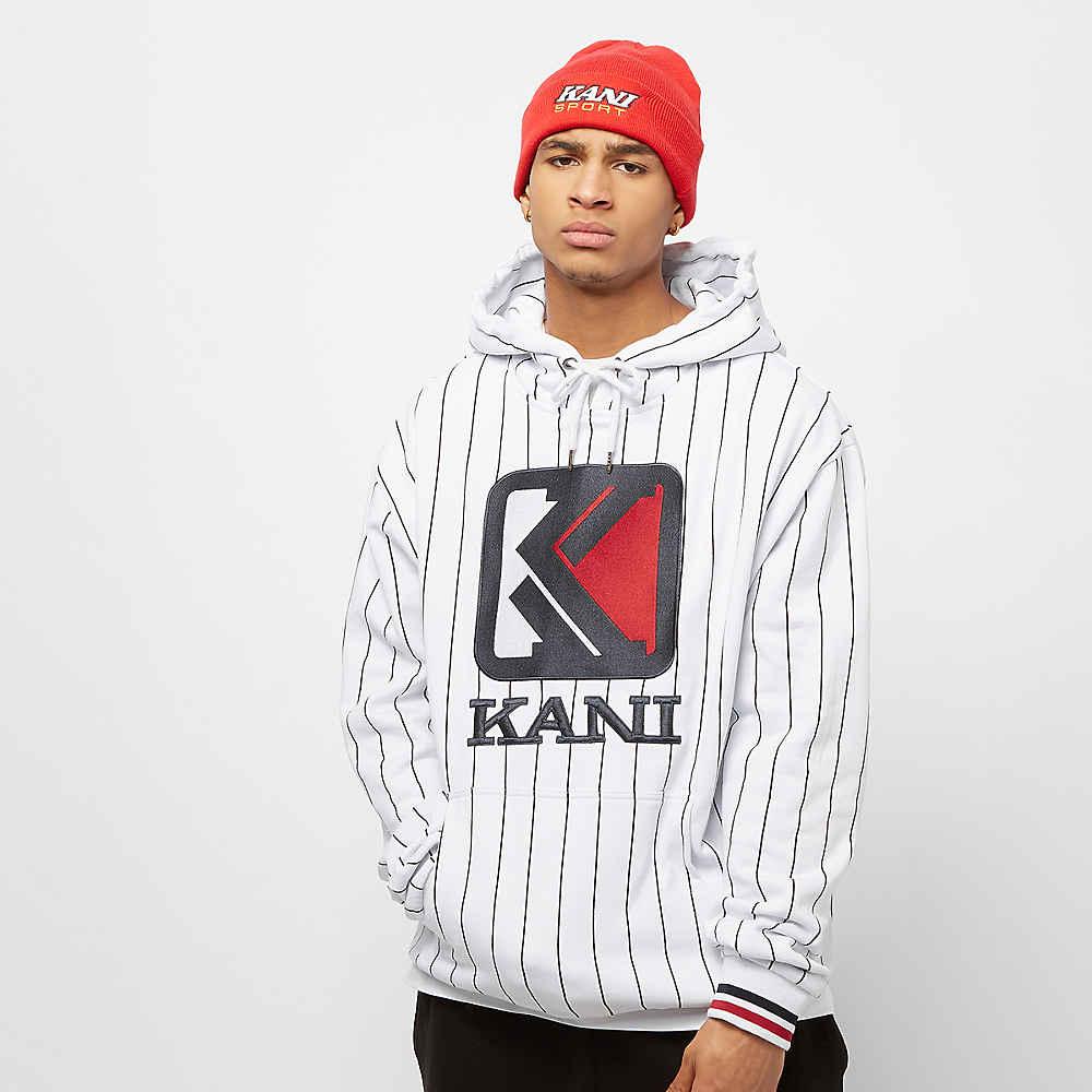 f23833eb8657b Compra Karl Kani KK OG Pinstripe Hoodie white black Hoodies en SNIPES