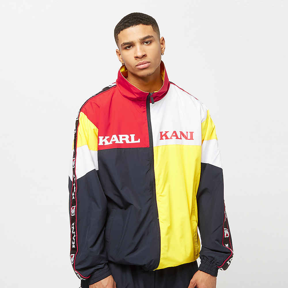 cf9239edc6ab4 Compra Karl Kani KK Retro Block Trackjacket yellow red white blue Chaquetas  de entrenamiento en SNIPES