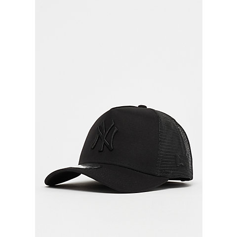 4bd2e427ca5235 New Era A-Frame Trucker MLB New York Yankees black/black