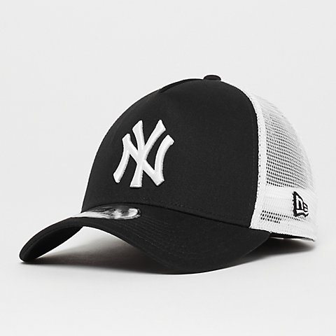 3ca33db3388595 New Era A-Frame Trucker MLB New York Yankees black