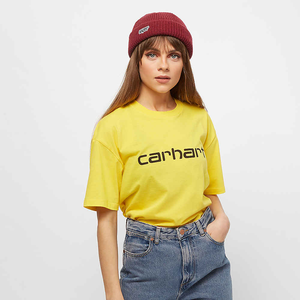 Compra Carhartt WIP S S Script Primula black T-Shirts en SNIPES 448775773b0