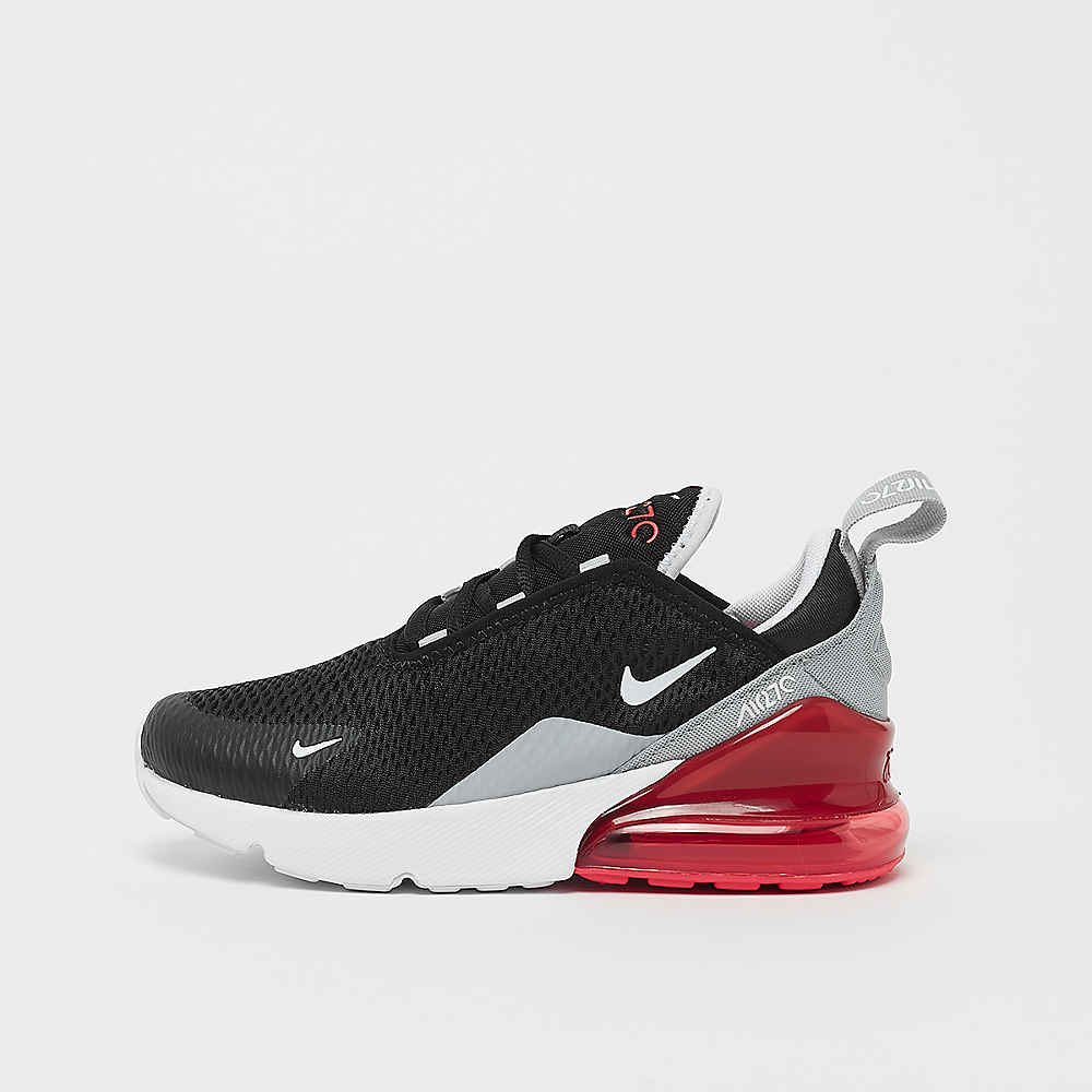 b12a71b851 NIKE Air Max 270 (PS) black/white/ember glow/wolf grey
