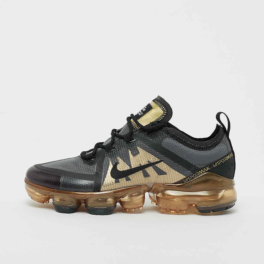 NIKE Air Vapormax 2019 GS black/gold Sneaker bei SNIPES