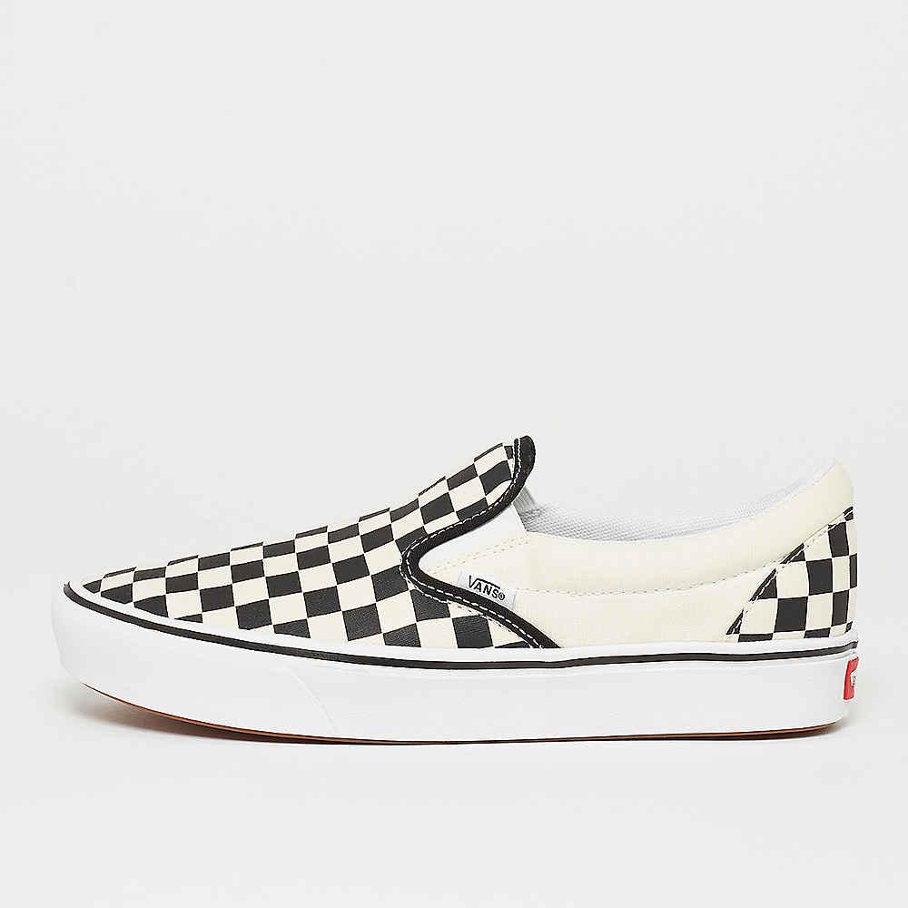 UA ComfyCush Slip On (Classic) checkerboardtrue white