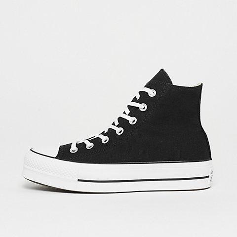 Converse Chuck Taylor All Star Lift Hi BlackWhiteWhiteBlack Girl Shoes