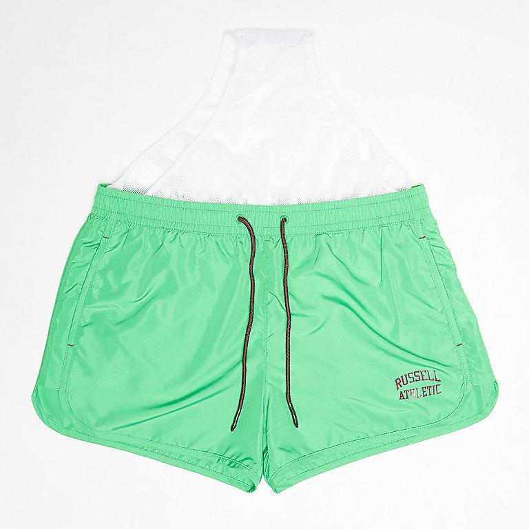 55c49b396e Russell Athletic ICONIC SWIM SHORTS green Zwembroeken bij SNIPES ...